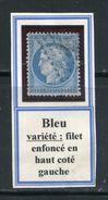 FRANCE- Y&T N°60A Oblitéré- Variété De Filet - 1871-1875 Ceres