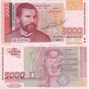 BULGARIA     5'000  Leva  P111a     1997    UNC - Bulgarie
