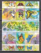 Israel 2011,6V In  Block,butterflies,vlinders,schmetterlinge,papillons,mariposas,MNH/Postfris,(L3226) - Papillons