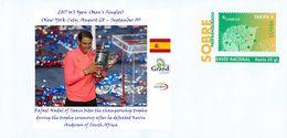 SPAIN, (Tennis) 2017 US Open (Men's Singles), Winner : Rafael Nadal (Spain), Runner-up : Kevin Anderson (South Africa) - Tennis