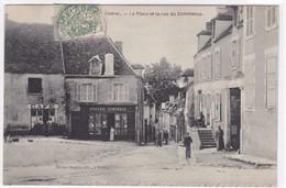 Indre - La Place Et La Rue Du Commerce - Autres Communes