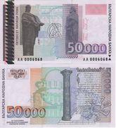 BULGARIA     50'000  Leva  P113a     1997    UNC - Bulgarie