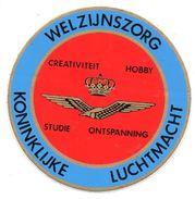 Sticker Koninklijke Luchtmacht Welzijnszorg  Autocollant Vliegtuig Avion Airplane Flugzeug Militair Militaire - Aviation
