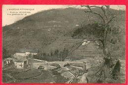 CPA - 07 - ARDECHE - PONT DE VEYRIERES - VUE GENERALE - Autres Communes