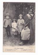 Types Creusois N°1711 Beaux Enfants De La Creuse VOIR ZOOM Années 1920 Costumes Sabots Coiffe - Zonder Classificatie