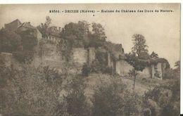 Decize - Ruines Du Château Des Ducs De Nevers - Decize