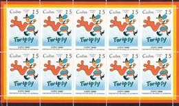 CUBA 4138,unused Sheet - Cuba