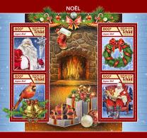 CHAD 2017 ** Christmas Weihnachten Noel M/S - IMPERFORATED - DH1746 - Weihnachten