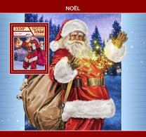 CHAD 2017 ** Christmas Weihnachten Noel S/S - IMPERFORATED - DH1746 - Weihnachten
