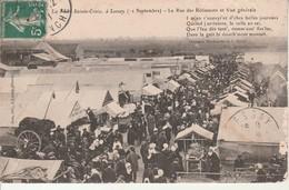 La Foire Ste Croix-Lessay-La Rue Des Rotisseurs Et Vue Générale- - Other Municipalities