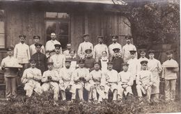 Photo Oktober 1914 OLDENBURG - Reservelazarett, Lazarett, Soldaten (A183, Ww1, Wk 1) - Oldenburg