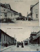 Col De La SCHLUCHT (2 CPA Animées Tramway) - Autres Communes