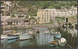 The Harbour, Polperro, Cornwall, 1967 - Postcard - England