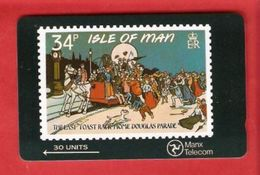 Isle Of Man  Magnetic Phonecard GPT - Isla De Man