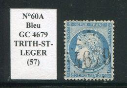 FRANCE- Y&T N°60A- GC 4679 (TRITH-ST-LEGER 57) Assez Rare!!! - Marcophilie (Timbres Détachés)