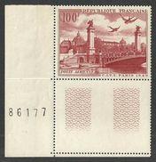 FRANCE 1949 TELEPHONE & TELEGRAPH COMMUNICATIONS AIRMAIL VALUE BIRDS BRIDGES MNH - Francia