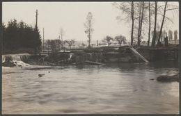 Flutschaden, Irgendwo In Deutschland, C.1930-50 - Foto-AK - Floods