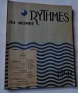 Rythmes Du Monde N°1 1950  Revue Cinéma - Cinema
