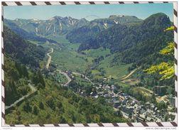 2Y2514 LE MONT DORE VUE GENERALE LA CHAINE DU SANCY ET LE CAPUCIN 2 SCANS - Le Mont Dore