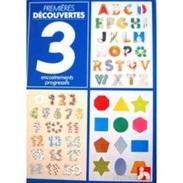 Premières Découvertes : 3 Encastrements (Fernand Nathan ) - Group Games, Parlour Games