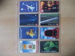 Telefonkarten Deutschland Gebraucht 8 Verschiedene - Germany