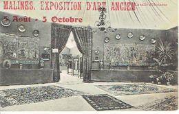 MACHELEN - MALINES EXPOSITION D'ART ANCIEN - Au Verso Censure Militaire NAMUR - Machelen