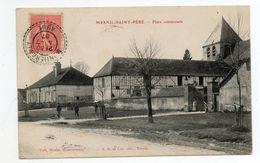 10 - Mesnil-saint-père - Place Communale - France
