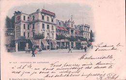 Lausanne, Hôtel Continental, Tramway (217) - VD Vaud