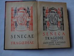"""Collezione Romana: SENECA """"Tragedie"""" Versione Di G.Lattanzi 1928 Edit.Notari - Livres Anciens"""