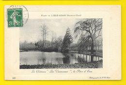 """L'ISLE ADAM Rare Pièce D'eau Du Château """"Les Vanneaux"""" (ND Phot) Val D'Oise (95) - L'Isle Adam"""