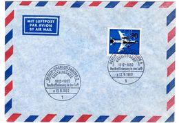 Lettre Berlin_Charlottenburg (12.09.1962)_Perfin_Perforé_LU Post A - [7] Federal Republic