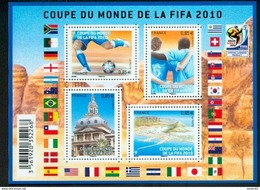 France 4481 4484 F Coupe Du Monde De Football Neuf TB ** MNH Sin Charnela Prix De La Poste  3.4 - Francia