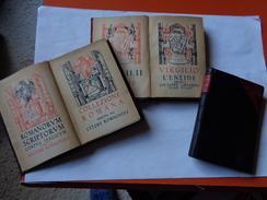"""Collezione Romana: Virgilio """"L'Eneide""""  Versione Di G.Lipparini 1928  3 Volumes Edit.Notari - Livres Anciens"""