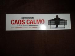 ANCIEN MARQUE PAGE  / PUB  FILM / CAOS CALMO / NANNI MORETTI - Marque-Pages