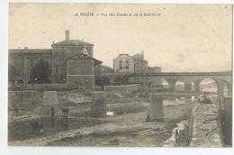 Ardèche 07 - Le Pouzin Vue Des écoles Et De La Distillerie - Le Pouzin
