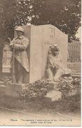 DISON  MONUMENT COMMEMORATIF   DE 1914 - 1918  COTES VERS LE SUD - Dison