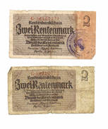 2Mark 2 Biljets - 1918-1933: Weimarer Republik