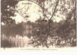 Saint Gérand De Vaux Château Des Guichardeaux - Correspondance Militaire Rég D'inf Détaché à Varennes - Other Municipalities