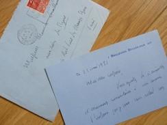 Henry BORDEAUX (1870-1963) Romancier & Essayiste Académie Française - AUTOGRAPHE - Autographes