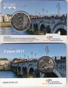 @Y@  Nederland    2 Euro 2017  UNC  Coincard  Nieuw Muntmeester Teken. - Pays-Bas