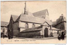 RENNES - Ancienne Eglise Saint-Aubin.  2 Scans - Rennes
