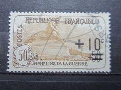 VEND BEAU TIMBRE DE FRANCE N° 167a , BON CENTRAGE !!!! - France