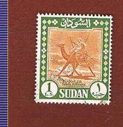 SUDAN     -  SG 469 CAMEL POSTMAN     - USED ° - Sudan (1954-...)