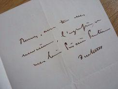 COMTE Tanneguy DUCHATEL (1803-1867) MINISTRE De LOUIS PHILIPPE 1er. Député JONZAC. Autographe - Autographs