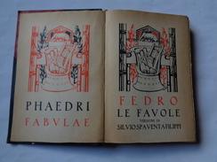 """Collezione Romana: FEDRO """"le Favole"""" 1928  Edit.Notari - Livres Anciens"""