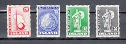 Iceland 1939,4V In Set,worldexhibition New York,exposition,ausstellung,exposición,esposizione,MLH/Ongebruikt(A3457) - Wereldtentoonstellingen