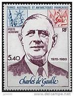 TERRES AUSTRALES ANTARTIQUES FRANçAISES (TAAF): De GAULLE  (Yvert PA61) Neuf Sans Charniere ** (MNH) - De Gaulle (Général)