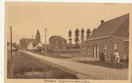 Carte Postale Ootegem - Vichte Vergezicht Van Kerk En Dorp - Anzegem