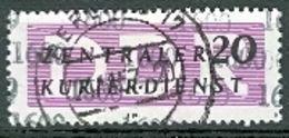 DDR Dienstmarke B Mi. 11 Gest. Kontrollzahl 1600 - DDR