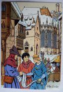 CARTE POSTALE VASCO Gilles CHAILLET - Lombard 1990  10è Anniverssaire - NOEL A NUREMBERG - Cartes Postales